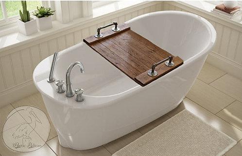 Bandeja de bañera rústica