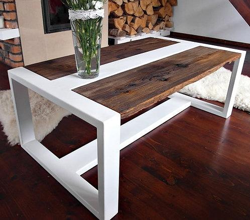Mesa de Centro Modelo*T-REX*Color Blanco