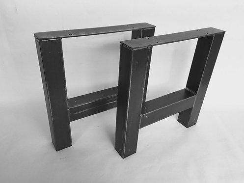 Pata de Mesa metal Modelo*H* (Set de 2)