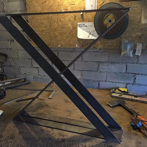 Patas de Metal Modelo *Pletina X*(Set de 2)