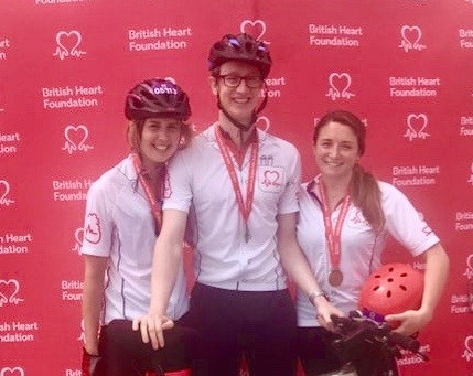 London to Brighton cycle for the British Heart Foundation