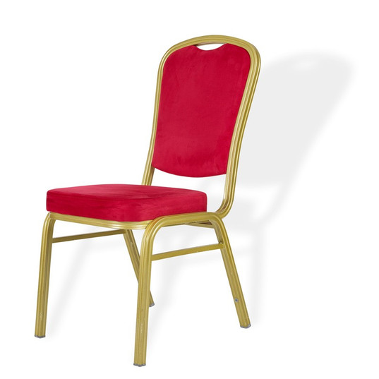 Red Padded Banquet Chairs