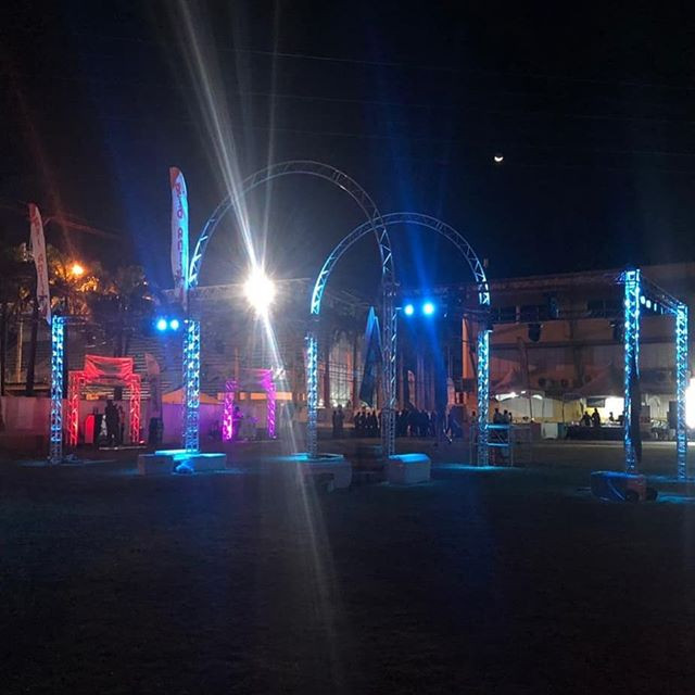 Customized Truss Entrance