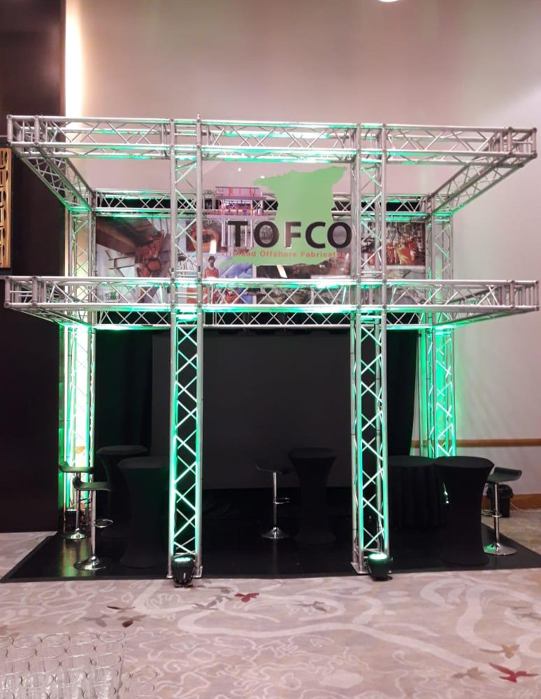 Customized Truss Booth