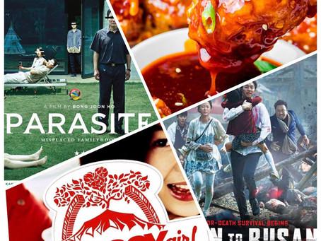 Korean movie night with Authentic Korean dishes!