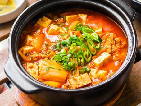 New MenuKimchi-jjigae (Kimchi Soup)