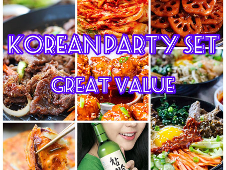 Korean Party Package with Great Value!!