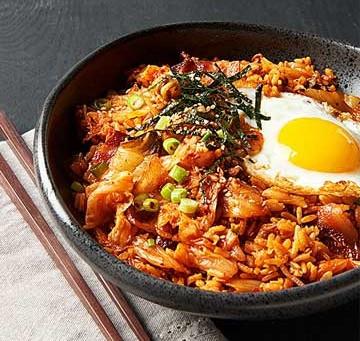 New MenuKimchi Pokkum Bap (Kimchi Fried Rice Beef or Vegan)