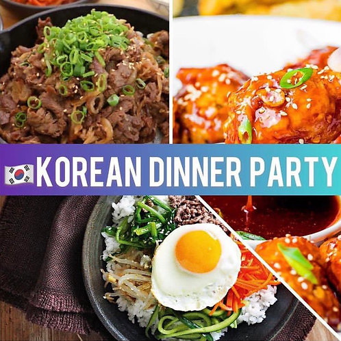 Korean Party for 8 people