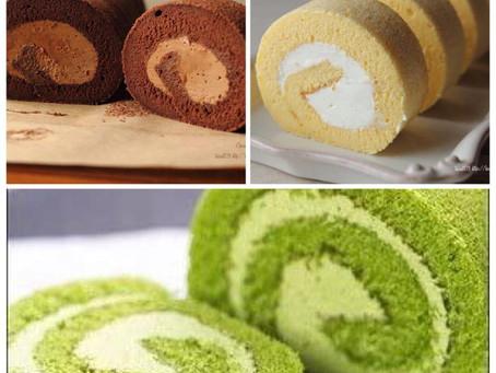 Japanese fluffy Roll Cakes (ロールケーキ)