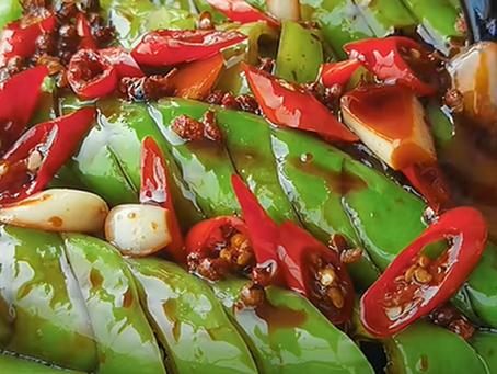Sensation! Delicious and Addictive - Korean Green Pepper Banchan