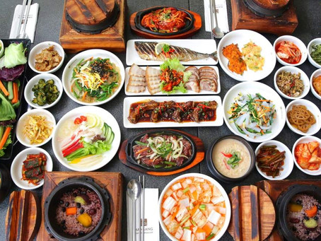 Eat Korean and Stay healthy!
