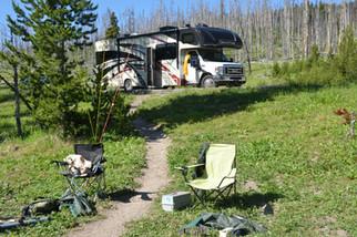 Fishing spot on Yellowstone River - Copy