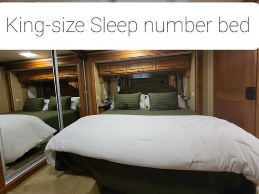 King-size Sleep Number bed