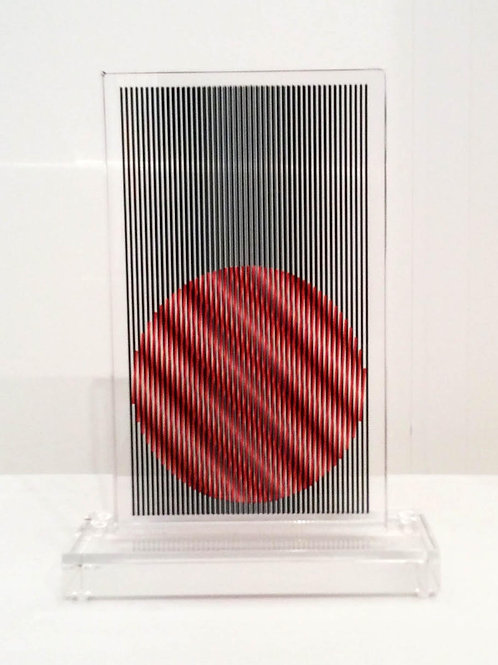Displacement Sphere Red - Unique Piece