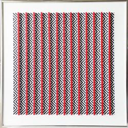Distorsion con lineas rojas
