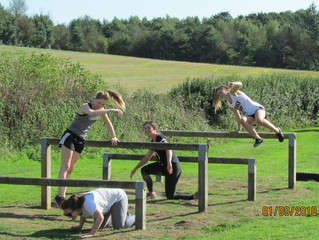 14 Sept 19: revisit the Bletchingley obstacle course!