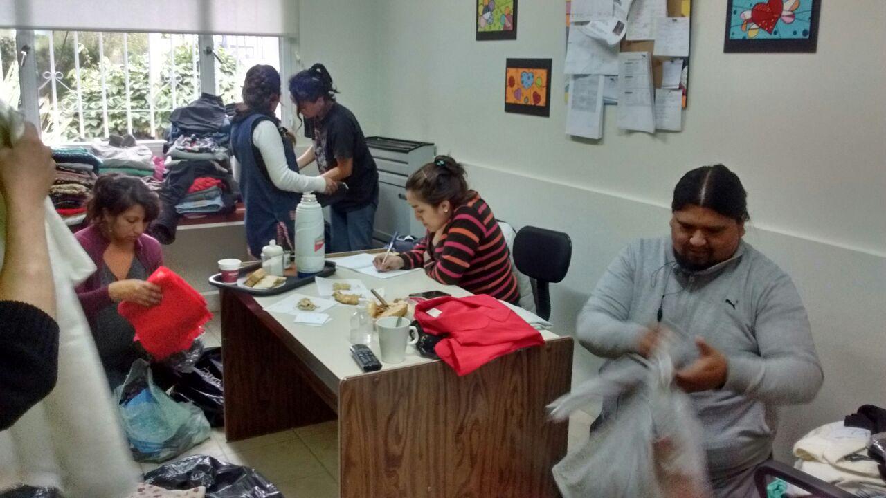Las familias de los chicos que asisten al Centro de Aprendizaje buscan soluciones a la falta de trabajo (2)