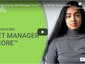 Introducing the Net Manager Score™... an NPS® for people leaders!