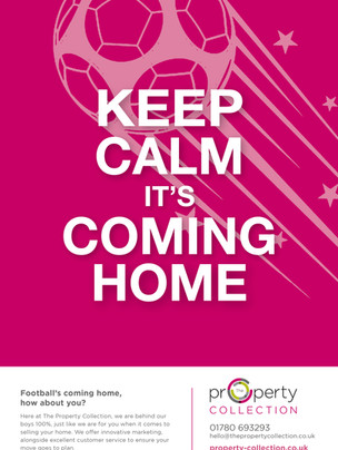 Keep Calm It's Coming Home