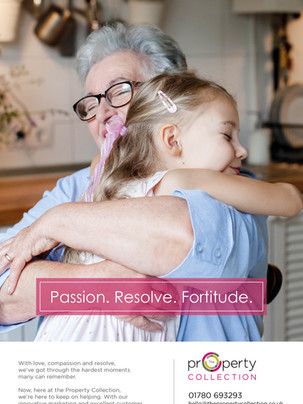 Passion. Resolve. Fortitude