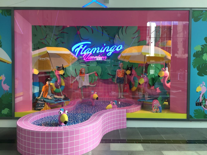 Flamingo Vacation