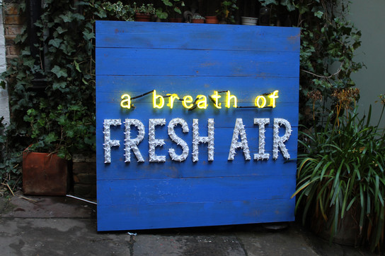 A Breath of Fresh Air Mood Board