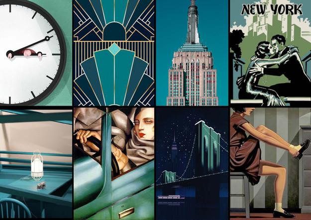Tiffany's Empire Mood Board