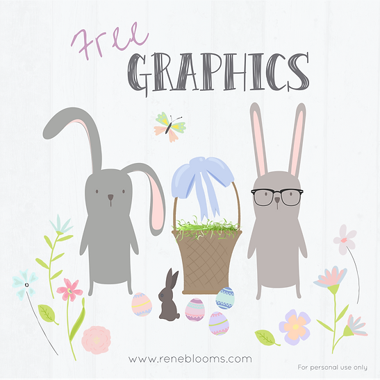 Scrapbook Bunnies from Rene Blooms