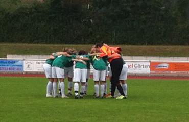Unsere VfB Damen der zweiten Mannschaft verlieren mit 2:1 gegen den TSV Weilheim/Teck