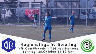 Spielankündigung VfB I - TSG Neu-Isenburg
