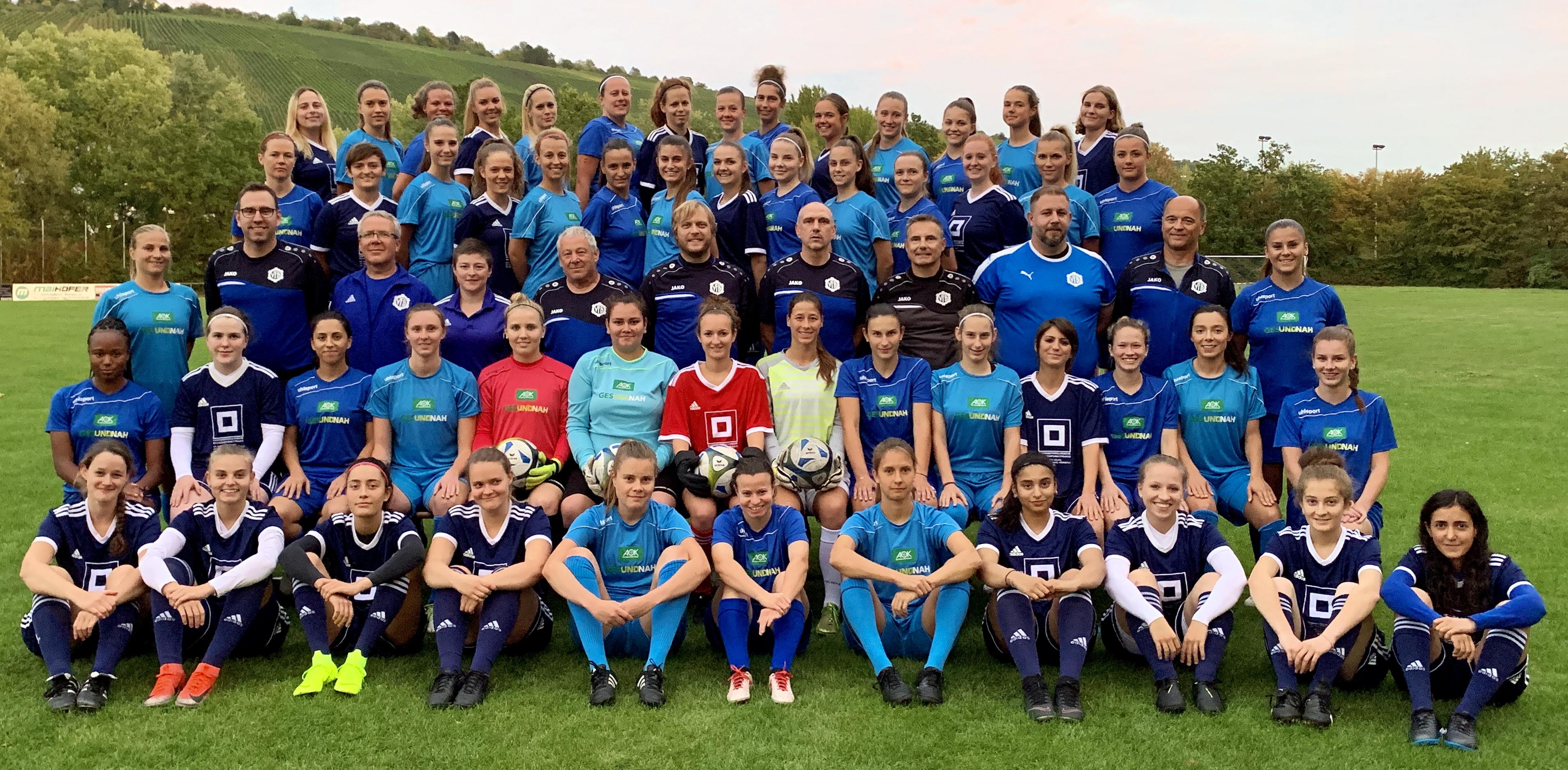 Unsere Damenmannschaften