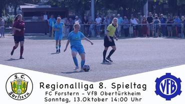 Spielankündigung FC Forstern - VfB I