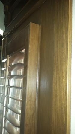 side of door shutter