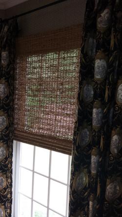 bamboo (woven wood) no liner