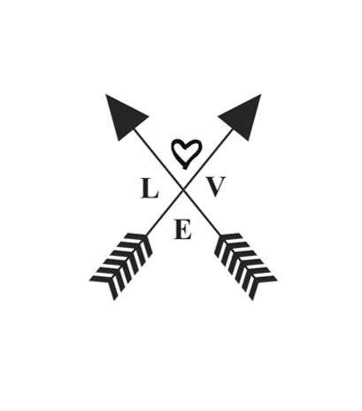 Crossed Love Arrows