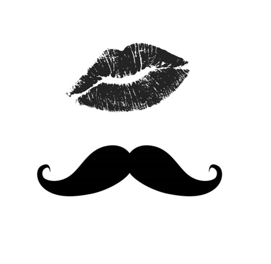 Lips & Stache