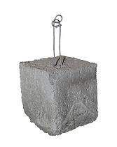 RW Foster Concrete Products – 3 Inch Concrete Dobie, Rebar Support Block, Wire Dobie Concrete Brick