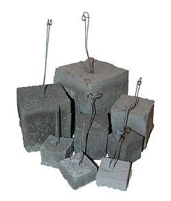 Concrete Dobie, Dobie Block, Rebar Spacer Block, RW Foster Concrete Products, LLC.