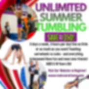 unlimited summer tumbling JULY UPDATE.jp