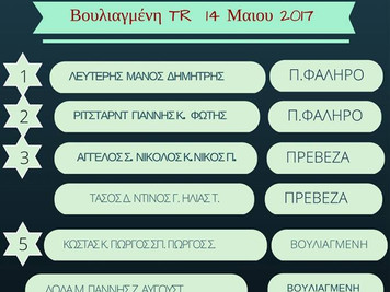 Αποτελέσματα Volta Greece  5  Βουλιαγμένη 2017
