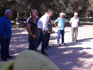 Ο Δήμαρχος Αθηνών κ. Κώστας Μπακογιάνης στην ακαδημία Πλάτωνα