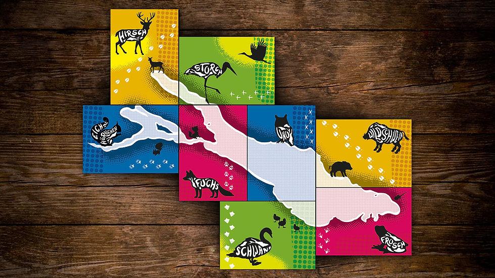 Bodensee Postkarten Set