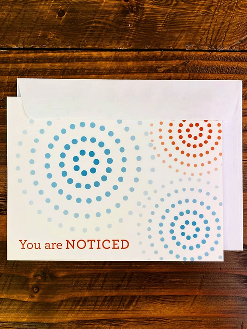 Noticed Greeting Cards (5 pack)