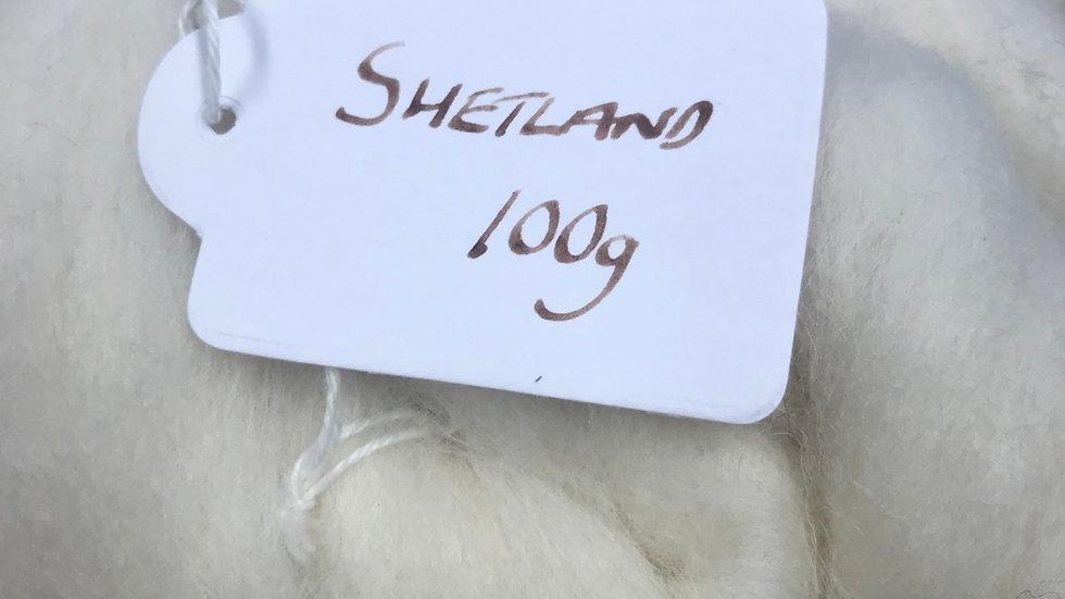 Shetland White Top 100g