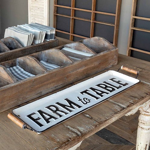 Farm toTable Tray