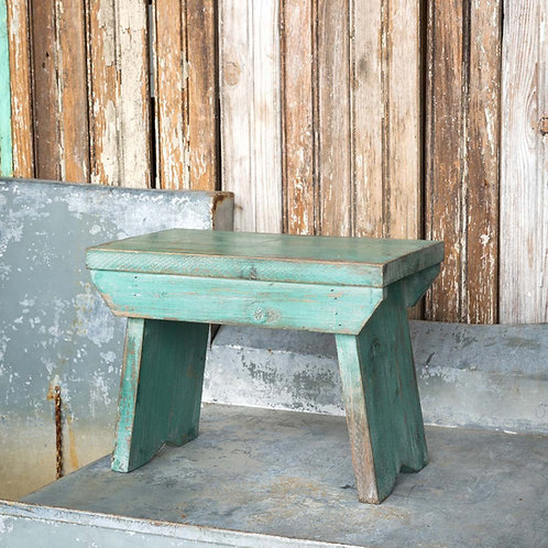 Wood Pantry Stool