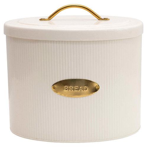 Metal Oval Bread Box