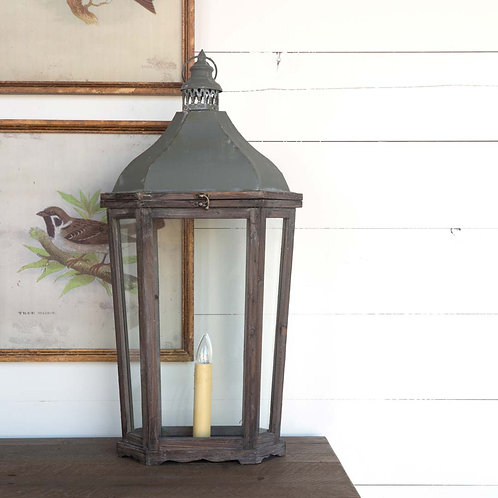 French Country Lantern Lamp