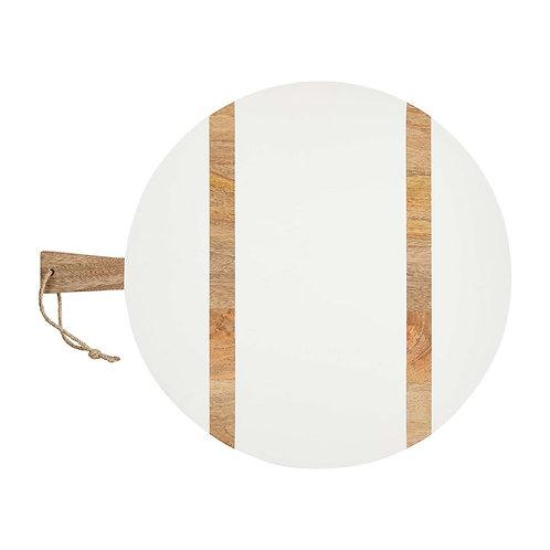 Large round mango paddle board